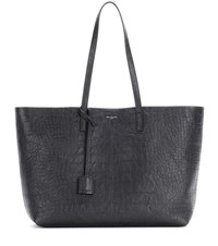 Saint Laurent Large Shopping Leather Shopper Black