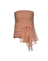 Elisabetta Franchi Tube Tops Light Brown