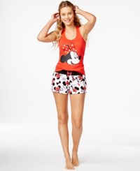 Briefly Stated Minnie Mouse Tank And Boxer Shorts Set