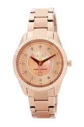 Armani Exchange Women's Dylan Bracelet Watch Pink