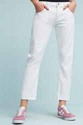 Anthropologie Citizens Of Humanity Emerson Mid Rise Boyfriend Jeans White