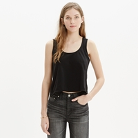 Madewell Cross Back Crop Tank