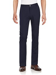 Vince Camuto Stretch Cotton Pants Navy