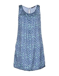 Scooterplus Short Dresses Blue