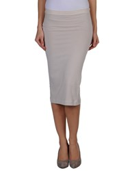 Jucca Skirts 3 4 Length Skirts Women Grey