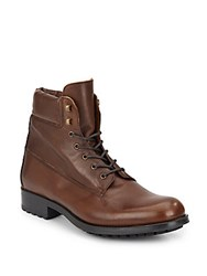 Saks Fifth Avenue Leather Boots Brown
