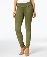 Jag Petite Nora Pull On Super Soft Skinny Jeans Canteen