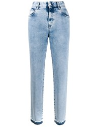 Just Cavalli Faded High Rise Jeans 60