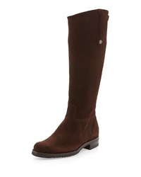 Gravati Waterproof Suede Riding Boot