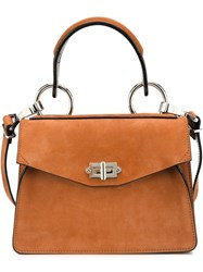 Proenza Schouler Small 'Hava' Top Handle Tote Brown