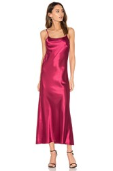 Candc California Erin Maxi Dress Burgundy