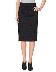 Scrupoli 3 4 Length Skirts Black