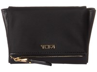 Tumi Voyageur Flap Card Case Black Cosmetic Case