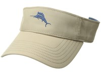Tommy Bahama Cotton Blend Visor Khaki Caps