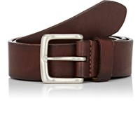 Felisi Men's Leather Belt Dark Brown