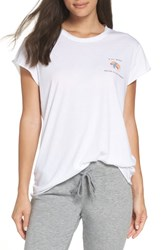 The Laundry Room Lil' Sushi Roll Hem Tee White