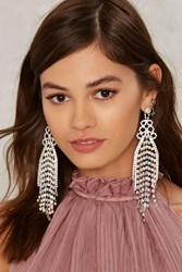 Walk The Rhinestone Earrings Multi