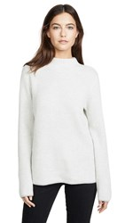 Club Monaco Margee Cashmere Sweater Light Heather Grey