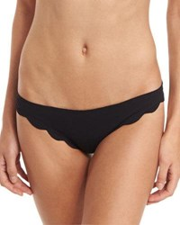 Marysia Broadway Scalloped Swim Bottom Black