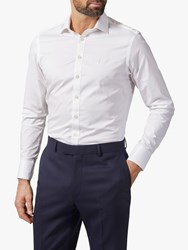 Chester Barrie By Travel Stretch Shirt White
