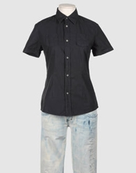 Diesel 55Dsl Short Sleeve Shirts Black