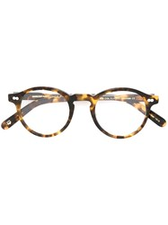 Moscot Turtleshell 'Miltzen' Optical Frames Brown