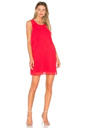 Bcbgeneration Ruffle Dress Red