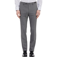 Pt01 Worsted Slim Fit Trousers Light Gray