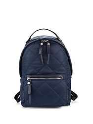 Sam Edelman Camila Quilted Backpack Poseidon Blue