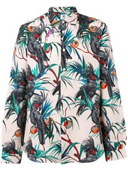 Paul Smith Ps By Tropical Print Shirt
