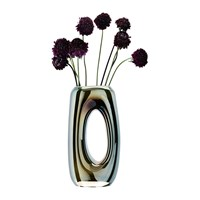 Lsa International Eclipse Hollow Vase Mercury 32Cm
