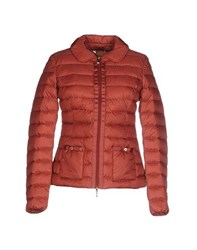 Geox Coats And Jackets Down Jackets Women Brick Red