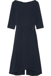 Roland Mouret Healey Stretch Crepe Dress Navy