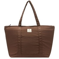 Snow Peak Cooler Tote Bag Brown