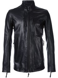 11 By Boris Bidjan Saberi High Neck Zipped Jacket Black