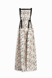 Erdem Farah Embroidered Gown Multi