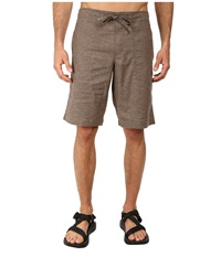 Prana Sutra Short Mud Men's Shorts Taupe