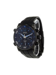 Mido 'Multifort Chronograph' Analog Watch Sapphire