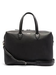 Burberry Lawrence Leather Holdall Black