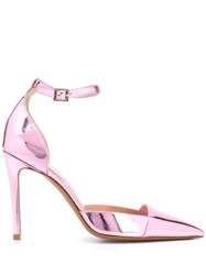 Alexandre Vauthier Cindy Pointed Pumps Pink