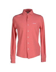 Roy Rogers Roy Roger's Shirts Shirts Men Coral