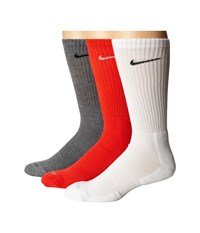 Nike 3 Pair Pack Dri Fit Cushion Crew Multicolor Crew Cut Socks Shoes
