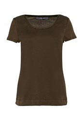 Hallhuber Mix And Match T Shirt Olive