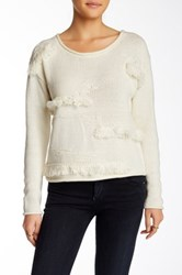 Plenty By Tracy Reese Clipped Pullover White