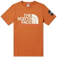 The North Face Fine Alpine Tee Brown