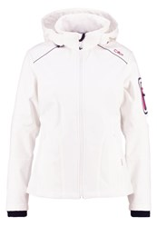 Cmp F.Lli Campagnolo Soft Shell Jacket Bianco Ibisco White