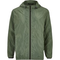 Only And Sons River Island Mens Green Zip Jacket