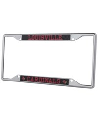 Stockdale Louisville Cardinals Carbon License Plate Frame Gray