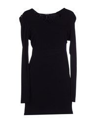 Roccobarocco Dresses Short Dresses Women Black