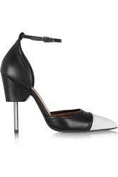 Givenchy Graphic Pumps In Black And White Leather